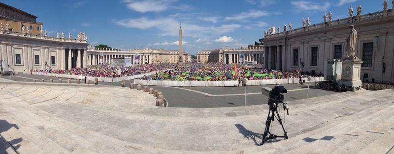 DPSG im Bistum Fulda Fulda goes Rom!