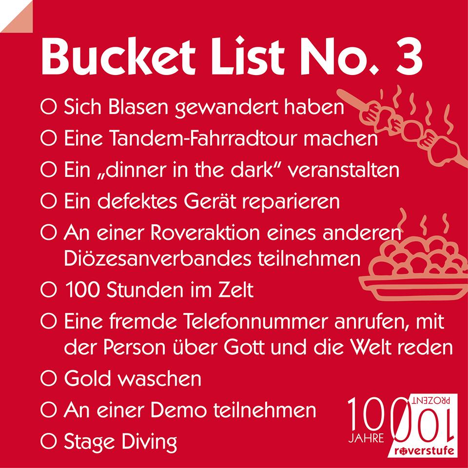 Bucket List 3
